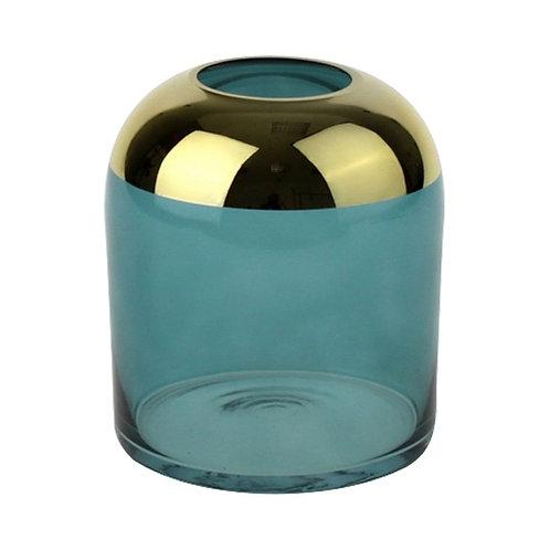 Vase mit goldenem Rand