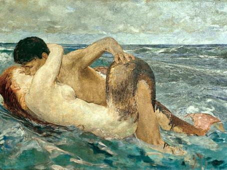 The Mermaid Segesta and the Triton Tigullio: The Legend of Sestri Levante