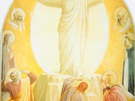 August 6 – Transfiguration