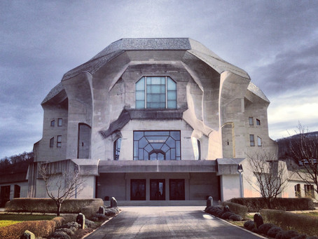 At the Goetheanum. At Home