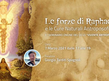 Le forze di Raphael e le Cure Naturali Antroposofiche