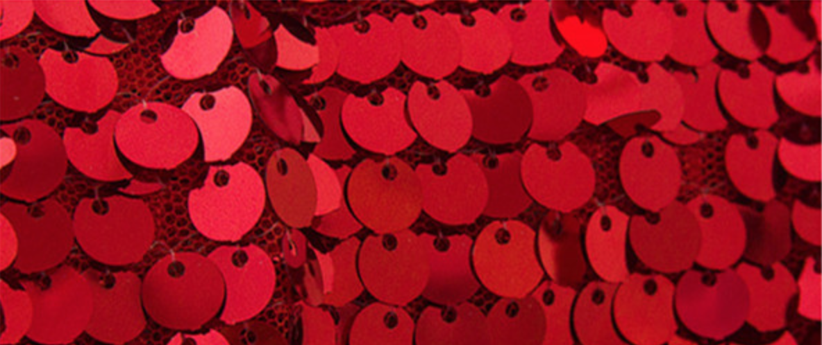 Red Sequin Backdrop Photobooth