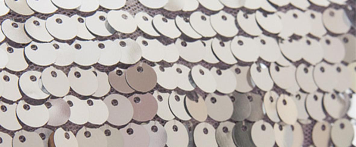 Silver Sequin Backdrop Photobooth