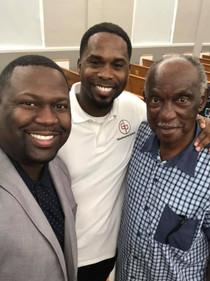 My Grandfather, Hayward Watkins and My Pastor Marcellus Barnes