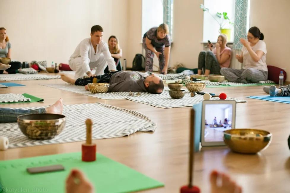 поющие чаши медитация