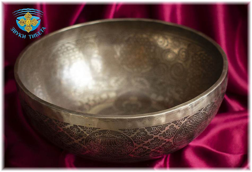 большая тибетская поющая чаша
