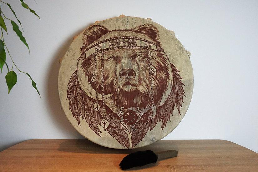 Шаманский Бубен - Медведь - 60 см