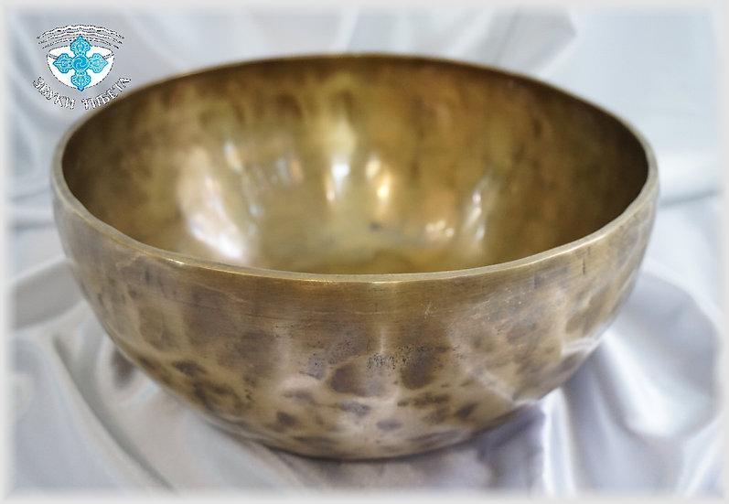 Поющая Чаша – кованая - 25.7 см. - 106-108 Гц. нота Соль диез и Ля