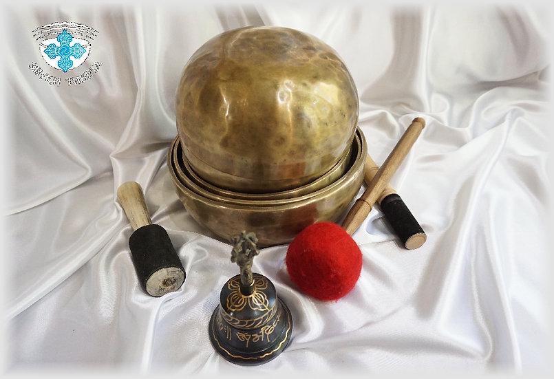 тибетские поющие чаши набор