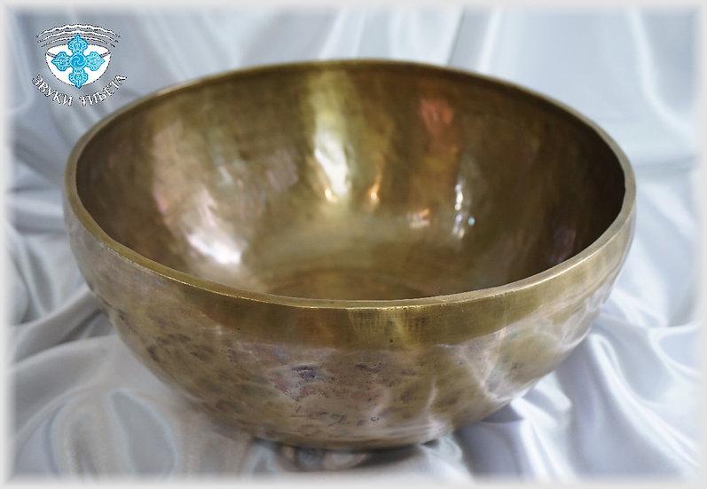 Поющая Чаша – кованая - 31.2 см. - 106 Гц. нота Соль диез.