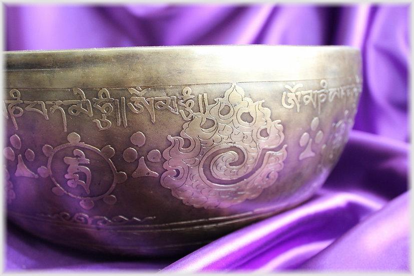 Поющая чаша. Непал. - 29.3 см.