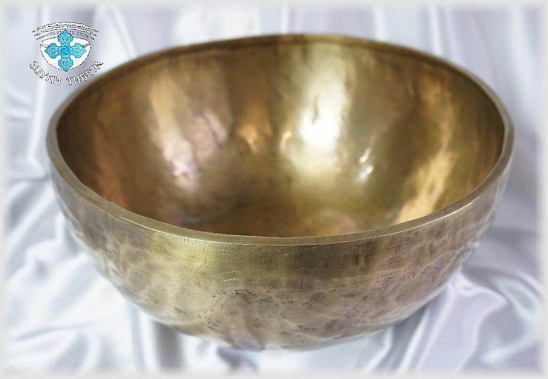 Поющая Чаша – кованая - 30.7 см. - 305 Гц. нота Re# 98 Гц. нота Sol.