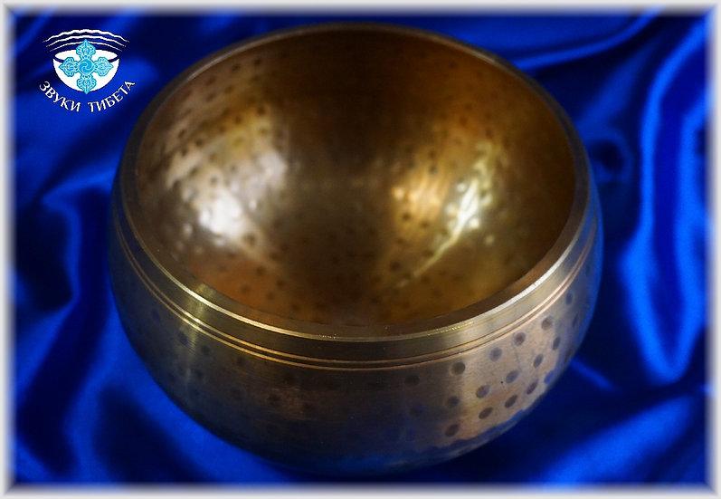 Литая поющая чаша - 15.5 см. - 418 Гц. Нота Sol#.