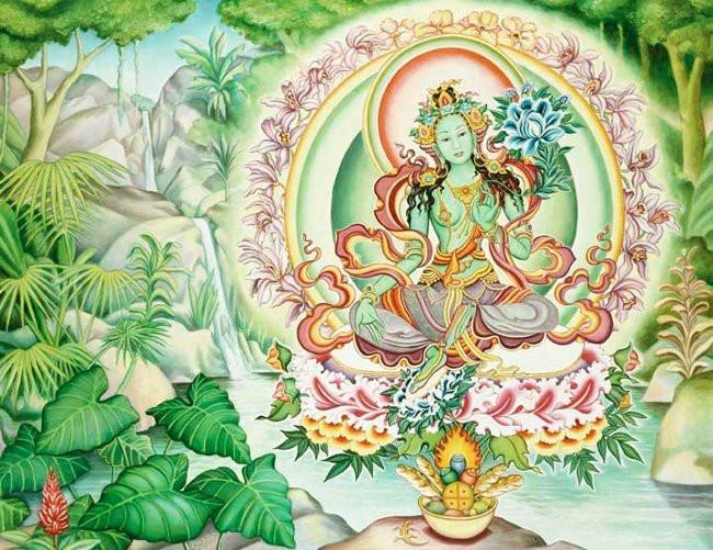 Богиня Зеленая Тара