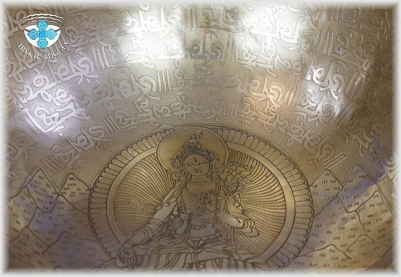 Тибетская поющая чаша из Непала