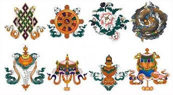 Восемь Благоприятных Символов.