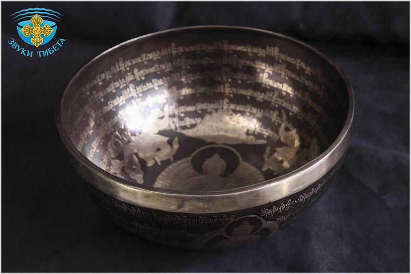 тибетская поющая чаша премиум класс