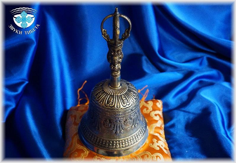 Тибетский поющий колокол - большой