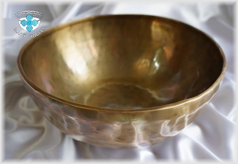 Поющая Чаша – кованая - 27.5 см. - 101 Гц. нота Соль диез и 305 Гц. нота Ре диез