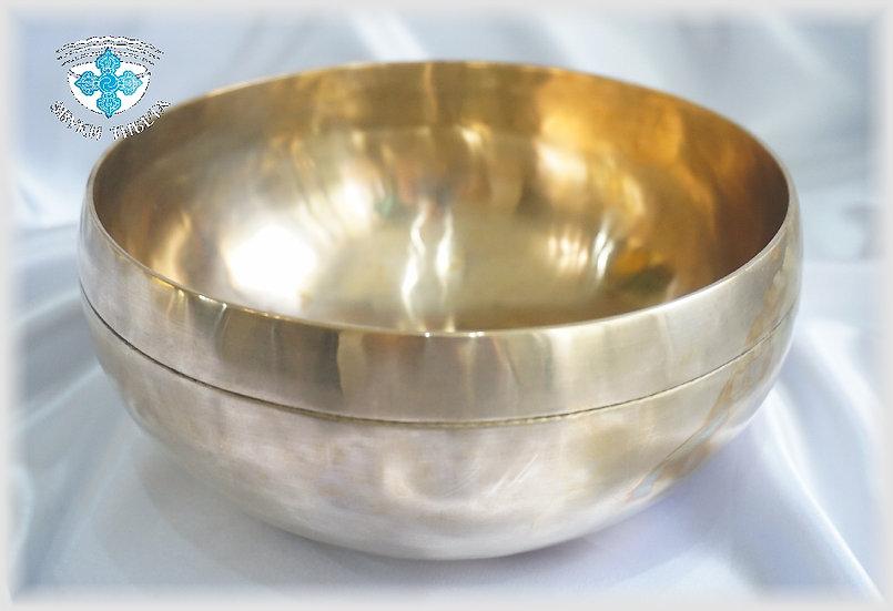 Тонкостенная поющая чаша - 19 см. - 199  Гц. нота Соль