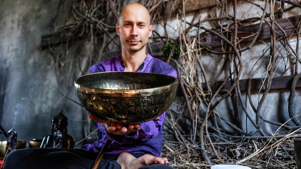 Экслюзивный вариант непальской поющей чаши