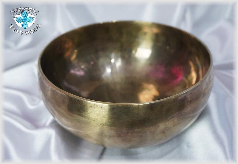 Поющая Чаша – кованая - 19.8 см. - 199 Гц. нота Соль. и 204 Гц. нота соль диез.