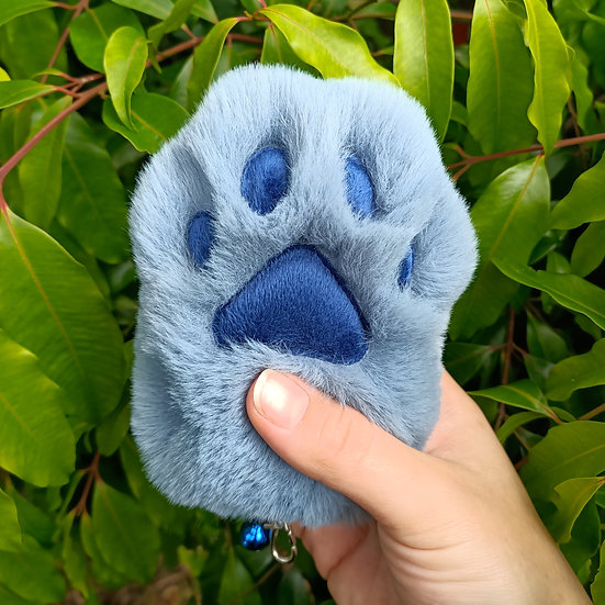 Blue Cat Paw - Large