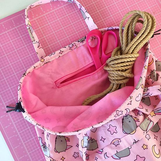 Rope Bag - Pink Pusheen