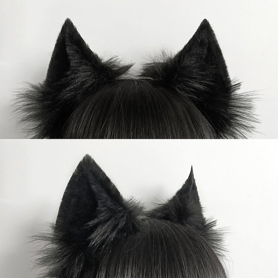 Black Canine Ears