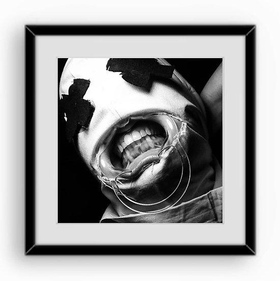 "Teeth 3 Print 6x6"""