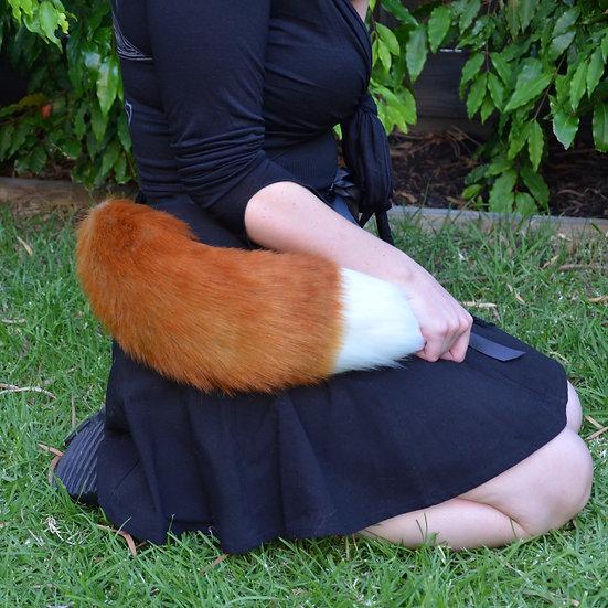 White Tipped Fox Tail
