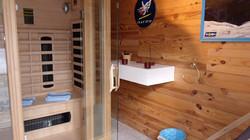 Sauna à infrarouges