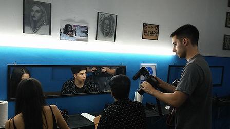 Grabacion para TV Curso de Tatuajes