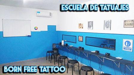 Aula de Curso de Tatuajes