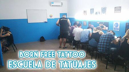 Curso de Tatuajes Aula Born Free Tattoo