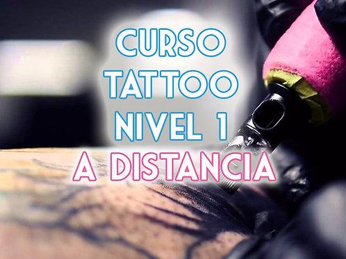 CURSO DE TATUAJES NIVEL 1 A DISTANCIA