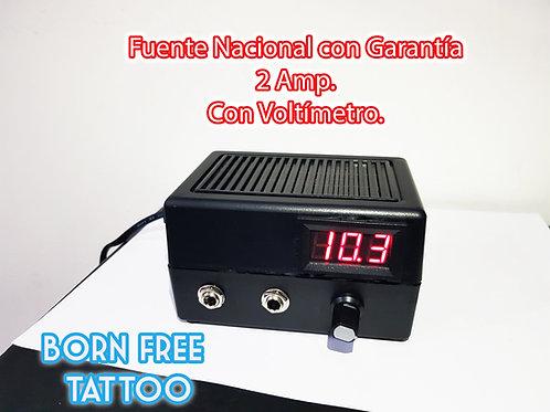 Fuente Voltimetro 2 AMP