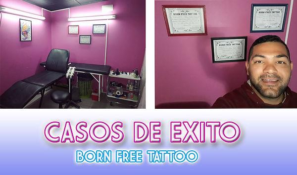 Caso de exito Born free tattoo