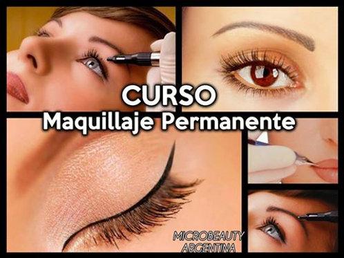 CURSO MAQUILLAJE PERMANENTE PRESENCIAL MODULO 1