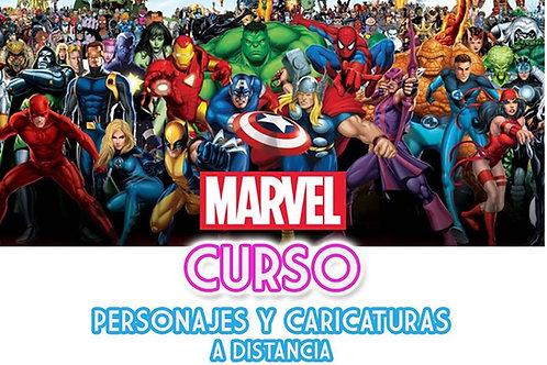Curso Dibujo Estilo COMIC (Marvel)