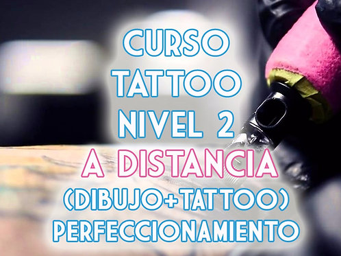 Curso Tattoo Nivel 2 Perfeccionamiento (Dibujo + Tattoo) A distancia