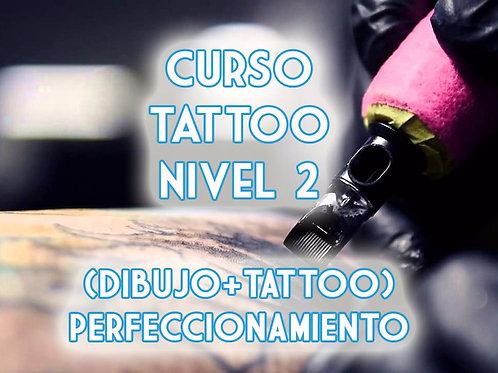 Curso Tattoo Nivel 2 Perfeccionamiento (Dibujo + Tattoo) Presencial