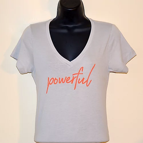 """Powerful"" Women's V Power Shirt"