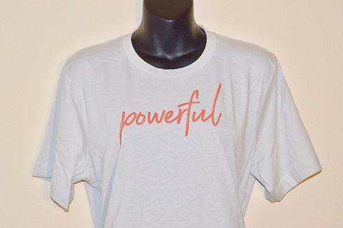 """Powerful"" Unisex Power Shirt"