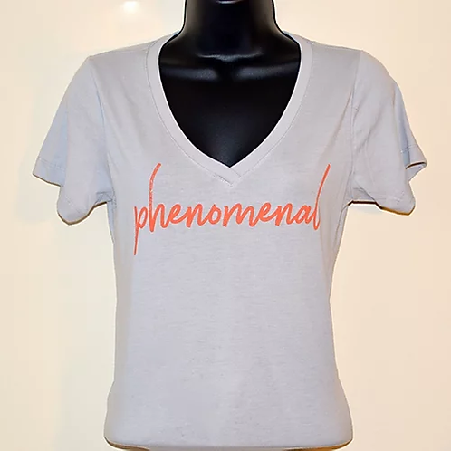 """Phenomenal"" Women's V Power Shirt"