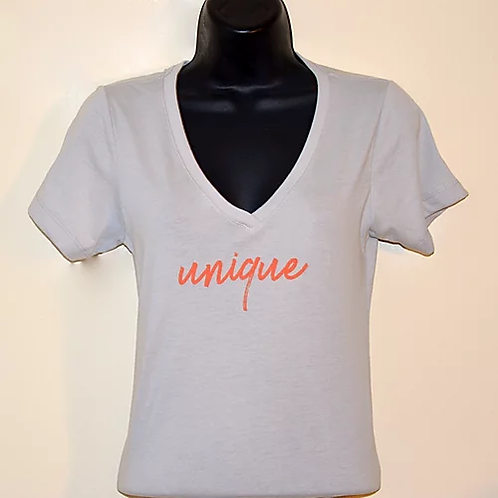 """Unique"" Women's V Power Shirt"