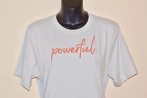"""Powerful"" Unisex Power Shirt"
