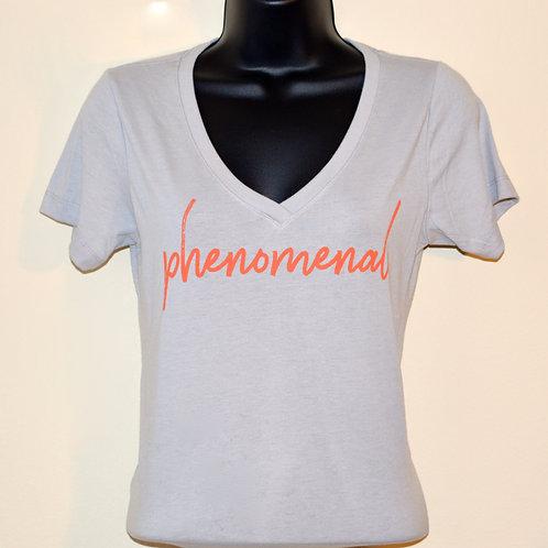 """""""Phenomenal"""" Women's V Power Shirt"""