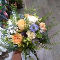 Le bouquet pour la mairie