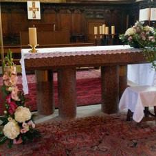 Décor d'autel